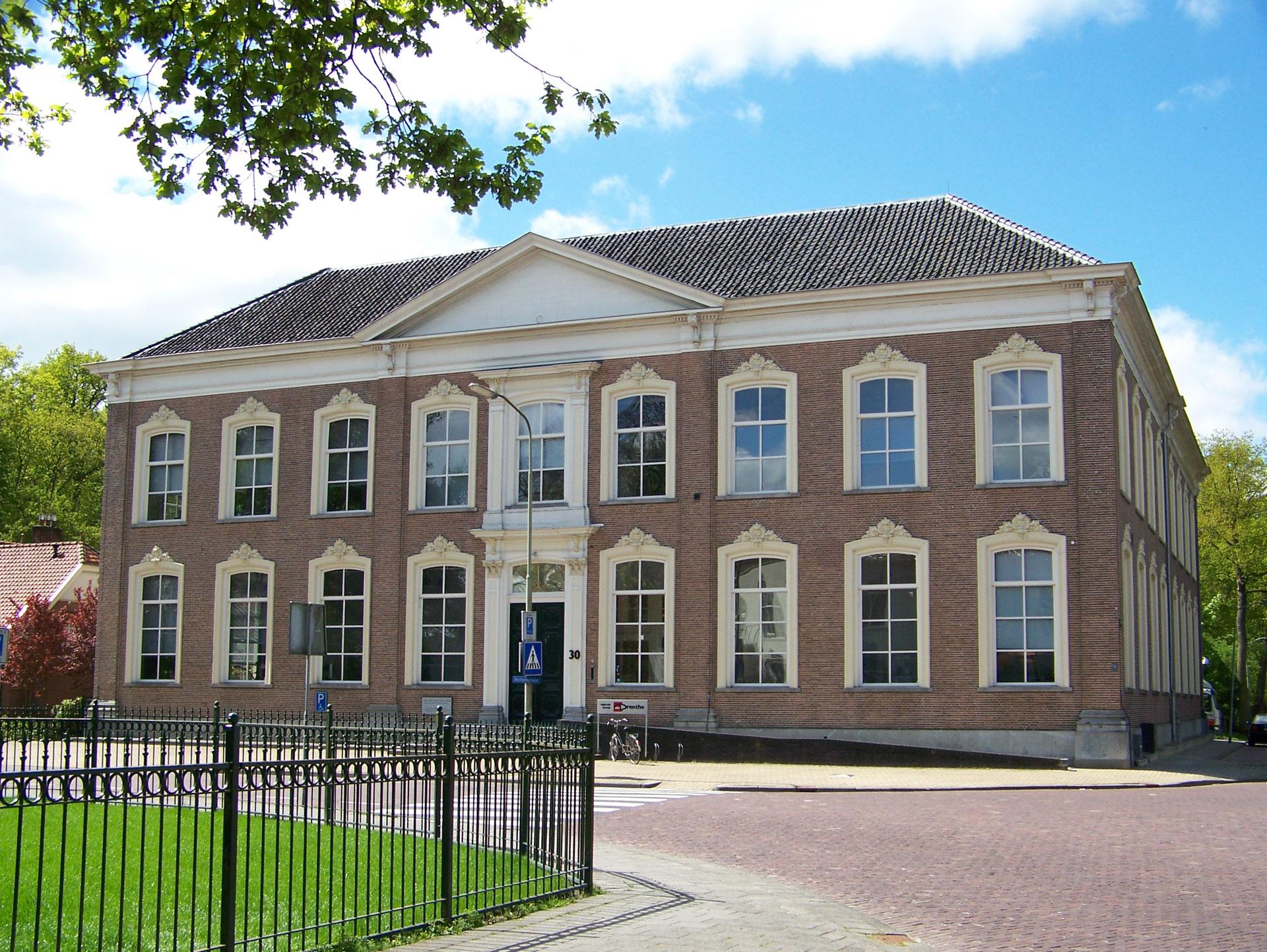 Het pand van RTV Drenthe