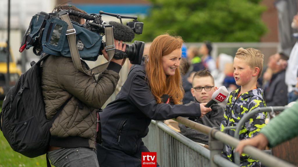 Verslaggever en cameraman